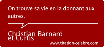 Citation Barnard Christian