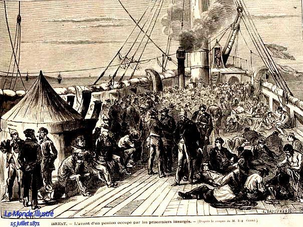 1871 15 juill rade de brest avant d'un ponton monde illustré