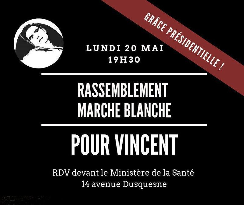 Vincent Marche blanche