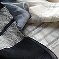 Lot de 2 foulards femme ✿ réf. axl101