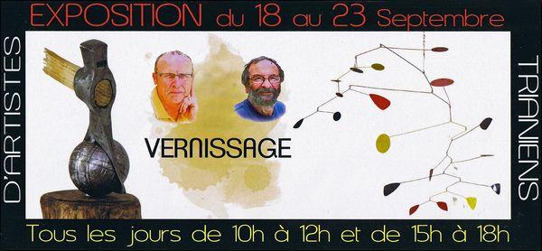 Vernissage de Jean-François HERGIBO et Daniel GUY