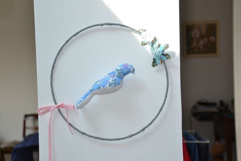 mobile oiseau betsy bleu 3