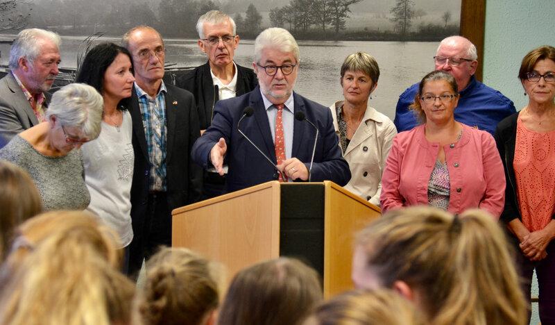 JUMELAGE COLLÈGES NADER COBAST 2018 Mairie élus