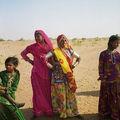 Sur la route de Jaisalmer.