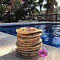Pancakes à la framboise
