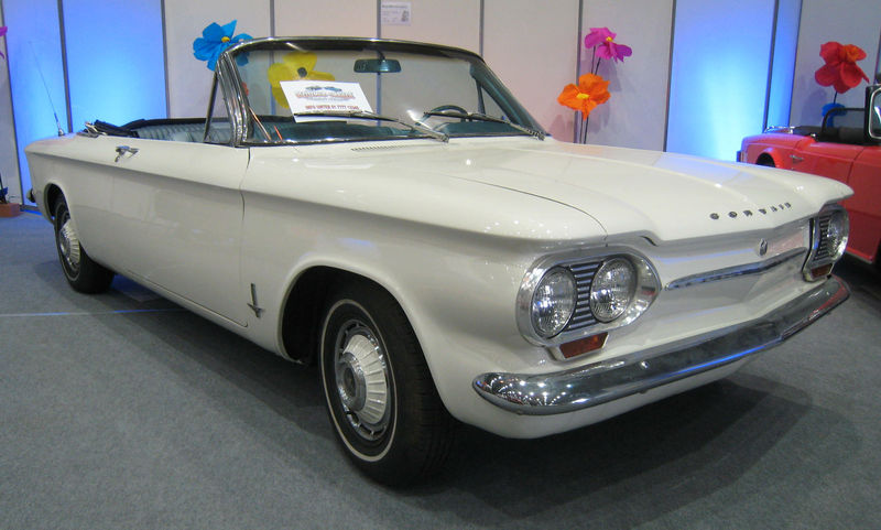 Chevrolet corvair convertible 01