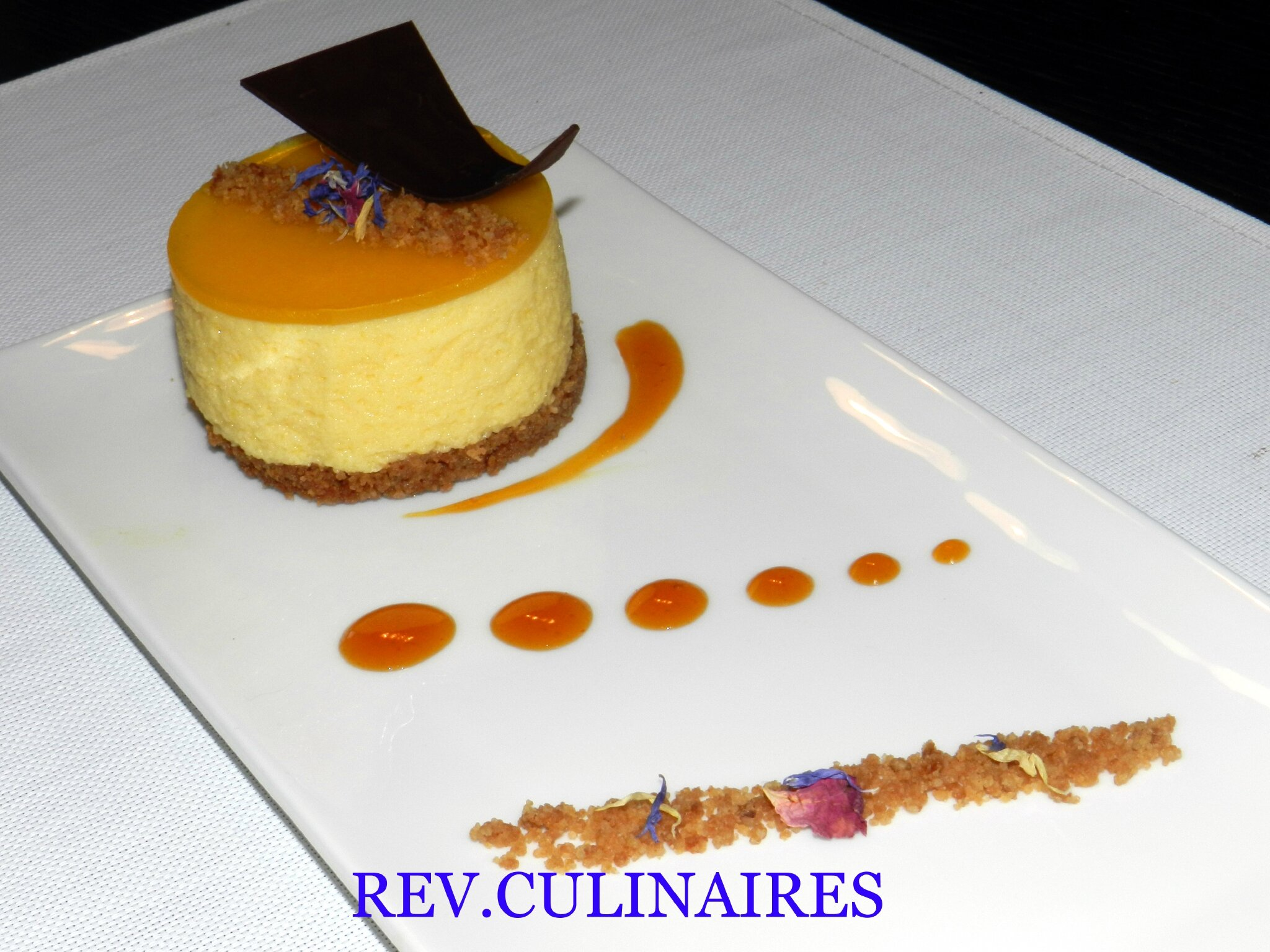 Mousse mangue-passion