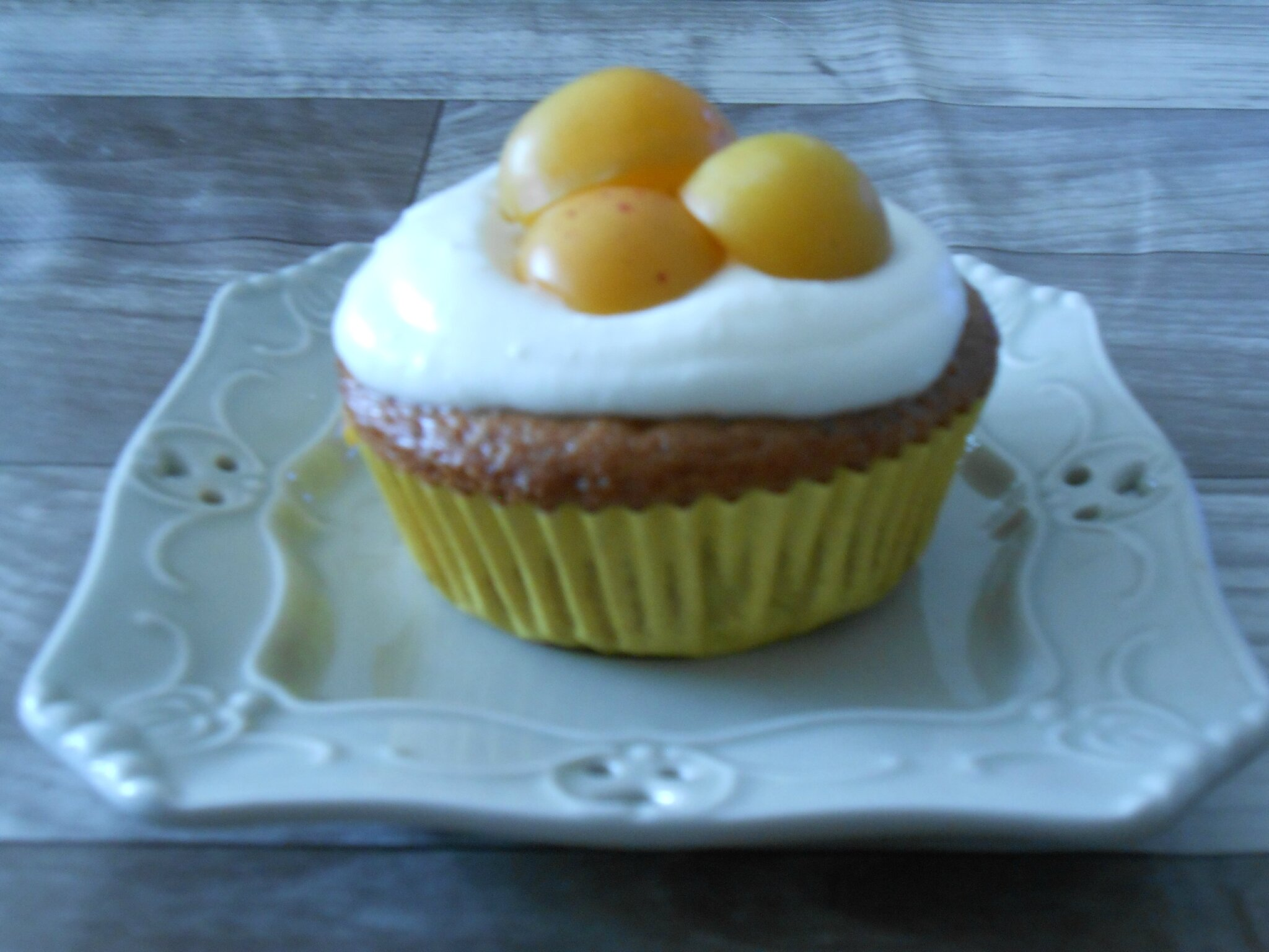 Muffins mirabelle façon cupcake