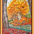Un si bel automne (huile 30x40)