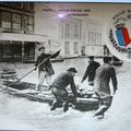 Paris inodé -1910