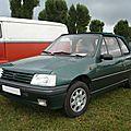 PEUGEOT 205 Roland Garros cabriolet 1993 Créhange (1)