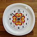 Horloge de cuisine vintage kiple