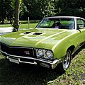 Buick gs 455 hardtop coupe-1971