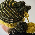 TRICOT Bonnet I love pompons 04