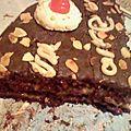 Gâteau au chocolat americain