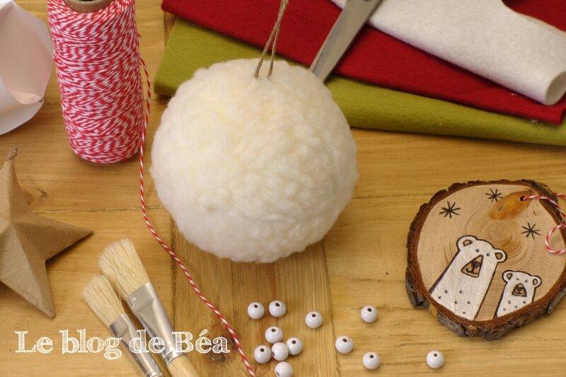 DIY boule de Noël