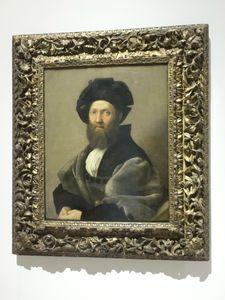 Portrait de Baldasarre Castiglione Raphaël
