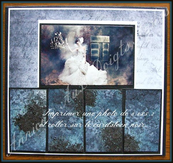 Tuto Carte Gothique et Fond de carte au gros sel 008