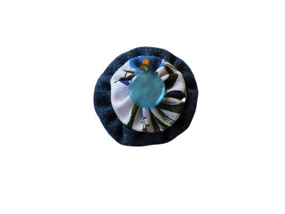 12/08/2019 - Fleur yoyo double en coton