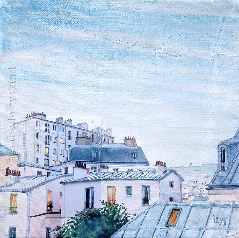 Paris pastel w20x20 0217