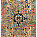 Christie's arts from the islamic and indian worlds including oriental rugs and carpets totals $14,800,042