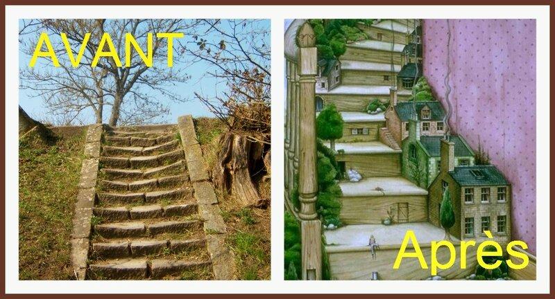 Les deux escaliers