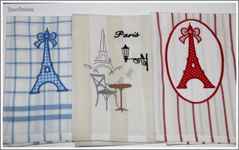 torchons trio Paris