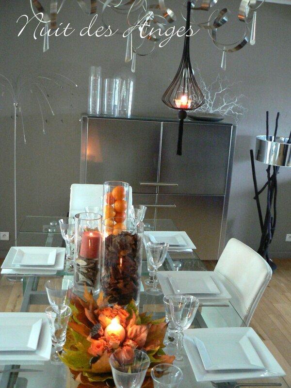 Nuit des anges décoratrice d emariage décoration de table automne 001