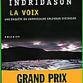La voix de Arnaldur Indridason