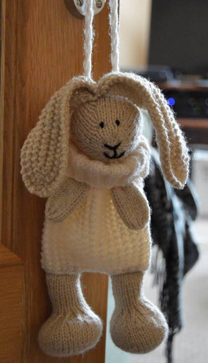 Traduction Bunny Baggles Easter - Knitting by Post