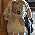 Bunny baggles easter - knitting by post