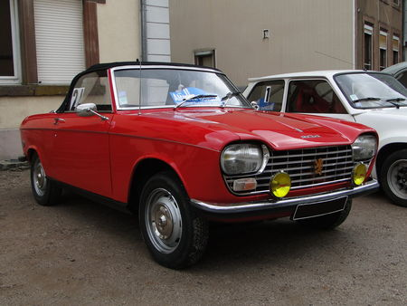 PEUGEOT 204 Cabriolet serie 3 1973 1976 Criterium de la Vallee de la Bruche Amedee Gordini 2010 1