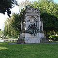 ixelles, le monument à charles de coster