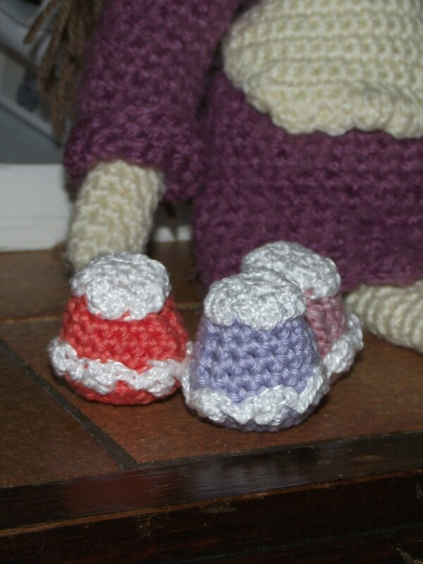 cupcake poupée au crochet coton fifty 2
