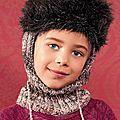 Cagoule chapka pour affronter le froid