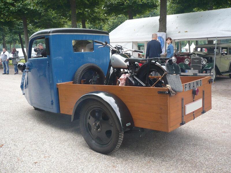 FRAMO LTP 200 plateau à ridelles 1936 Schwetzingen (2)