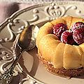Mini cheesecakes express aux pommes tentation® - concours pour gagner un kitchenaid