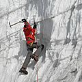 ascension du glacier du Yala pic