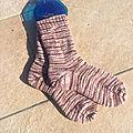 Vive les chaussettes tricotées