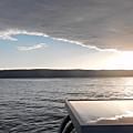 Les plus beaux sites du péloponnèse en voilier - jour j+6: panoramique de la baie sous akra fonias, vidéo. view of akra fonia.