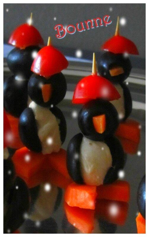 Pingouins apéritif Noël (1)