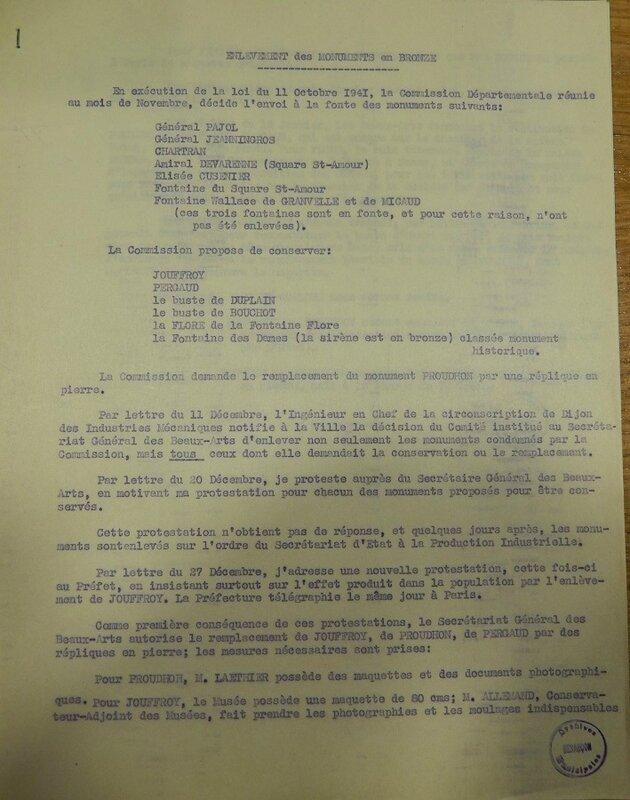 flore statue liste enlevée sous l'occupation (2)