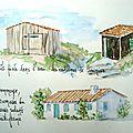 Cabanes de saunier et ecomusée