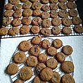 Cookies à la pâte de spéculoos 050