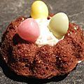 Petits nids pour pâques