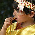 Chef indien #5 : des copains et des costumes d'indiens!