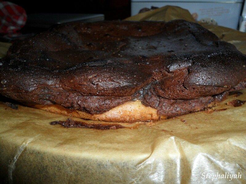 Gâteau chocolat et beurre de cacahuètes - 2