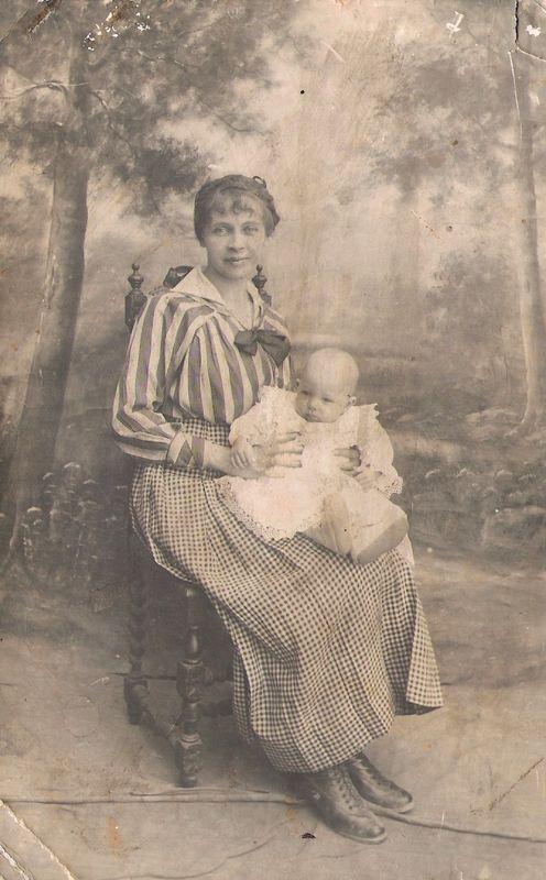 Carte Juliette et bébé