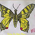 Atelier peinture eva : peinture papillon