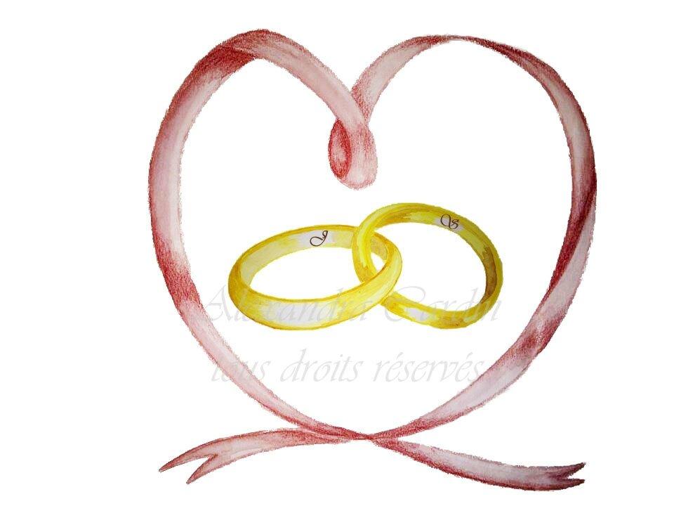 Complètement et trop extrême faire part de mariage - little_angel et créations @NZ_44